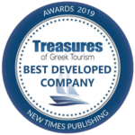 TREASURES OF GREEK TOURISM AWARD 2019